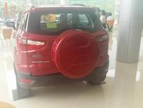 Bán ô tô Ford EcoSport 1.5 Titanium 2018, màu đỏ mận, mới 100%. LH 0907782222