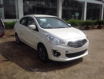 Bán xe Mitsubishi Attrage CVT eco, màu trắng, nhập khẩu có bán trả góp liên hệ 0906.884.030