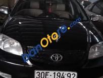 Bán Toyota Vios 2005, màu đen giá cạnh tranh
