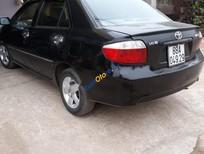 Bán Toyota Vios đời 2007, màu đen, xe gia đình, 195 triệu