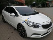 Cần bán lại xe Kia K3 2.0AT đời 2015, màu trắng, giá 610tr