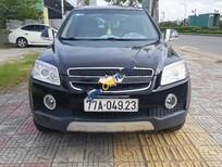 Bán xe Chevrolet Captiva LT đời 2008, màu đen, 272tr