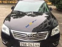 Cần bán Toyota Camry 2.4G đời 2010, màu đen chính chủ