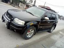 Cần bán gấp Ford Escape đời 2003, màu đen như mới, 175 triệu