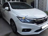 Cần bán gấp Honda City CVT 1.5 AT đời 2017, màu trắng