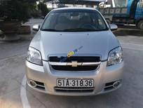 Cần bán gấp Chevrolet Aveo đời 2012, xe gia đình, nguyên bản