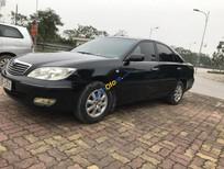 Bán Toyota Camry 2.4G đời 2003, màu đen, biển Hà Nội