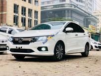Cần bán lại xe Honda City CVT đời 2017, màu trắng