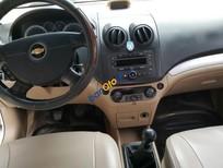 Bán Chevrolet Aveo LT 1.5MT số sàn, màu trắng, sản xuất 2014, biển SG