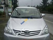 Cần bán Toyota Innova G đời 2010, màu bạc, giá chỉ 408 triệu