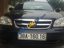Cần bán xe Daewoo Lacetti MT sản xuất 2010, màu đen, giá tốt