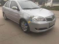Bán Toyota Vios 1.5G đời 2006, màu bạc xe gia đình