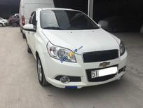 Cần bán Chevrolet Aveo LT 1.5 MT năm 2014, màu trắng, giá thương lượng