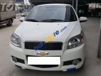 Bán xe Chevrolet Aveo LT 2014, màu trắng số sàn, 306tr