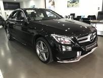Bán xe Mercedes C300 cũ đăng kí 2017 màu đen, nội thất kem như mới chạy 8166km