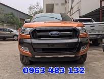 Bán Ford Ranger Wildtrak 3.2 AT 4x4 mới 100%, hỗ trợ trả góp, giao xe ngay và hỗ trợ thủ tục đăng ký đăng kiểm