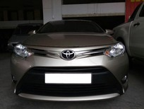 Toyota Vios 1.5E màu vàng, số sàn, sản xuất và đăng ký tháng 08/2017