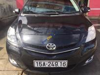 Cần bán gấp Toyota Vios đời 2009, màu đen, 235tr