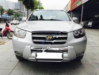 Cần bán xe Hyundai Santa Fe SLX đời 2008, màu bạc, xe nhập
