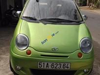 Bán Daewoo Matiz SE đời 2004, màu xanh lục, giá chỉ 118 triệu