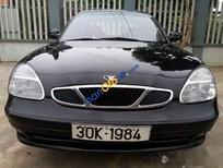 Cần bán lại xe Daewoo Nubira 1.6MT đời 2002, màu đen
