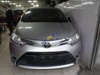 Cần bán gấp Toyota Vios 1.5E đời 2017, màu bạc, giá tốt