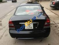 Bán gấp Daewoo Nubira sản xuất 2001, màu đen như mới