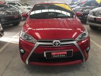 Bán Toyota Yaris sản xuất 2016, màu đỏ, xe gia đình, 640tr