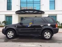 Cần bán lại xe Ford Escape XLT AT đời 2004, màu đen chính chủ, giá 178tr