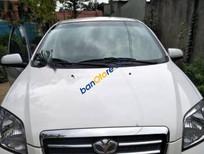 Bán Daewoo Gentra đời 2009, màu trắng