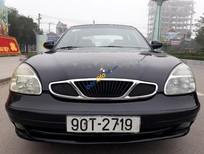 Bán Daewoo Nubira IIS đời 2002, màu đen chính chủ