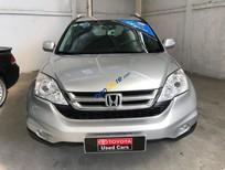 Cần bán Honda CR V 2.4 năm 2010/2011, màu bạc, hỗ trợ giá tốt