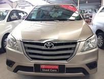 Bán xe Toyota Innova 2.0E 2014, màu vàng, giá tốt