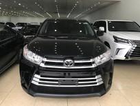 Giao ngay Toyota Highlander năm 2017, màu đen, nhập khẩu nguyên chiếc từ Mỹ, mới 100%