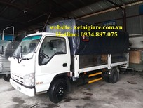 Đại lý bán xe tải isuzu 3t5 - 3.5 tấn - 3T5 nâng tải thùng dài 4.3 mét