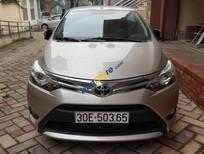 Cần bán Toyota Vios G năm 2017, màu vàng