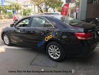 Bán Toyota Camry sản xuất 2011, màu đen chính chủ, giá 666tr