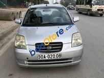 Xe Kia Morning MT đời 2007, màu bạc chính chủ, giá chỉ 158 triệu