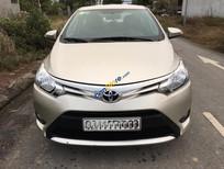 Bán xe Toyota Vios MT năm 2015, màu ghi vàng