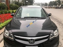 Bán Honda Civic MT đời 2010, màu đen