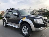 Bán gấp Ford Everest đời 2008, màu đen số sàn
