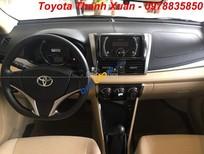 Giá bán Toyota Vios 1.5E số sàn 2018, tại Toyota Thanh Xuân, giá rẻ nhất. LH 0978.835.850