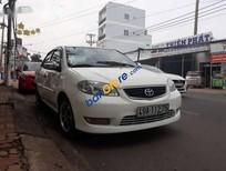 Bán Toyota Vios 1.5 MT sản xuất 2004, màu trắng, giá 162tr