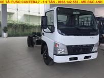 Bán xe tải Mitsubishi Fuso Canter 4.7 tải trọng 1,9 tấn, hỗ trợ vay mua xe qua ngân hàng 80%