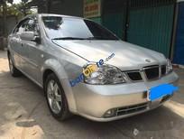 Bán Daewoo Lacetti MT đời 2007, màu bạc xe gia đình, 178tr