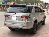 Cần bán lại xe Toyota Fortuner đời 2016, màu bạc