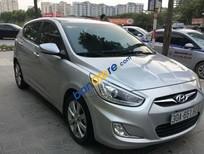 Bán Hyundai Accent Blue đời 2013, màu bạc