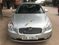 Cần bán xe Hyundai Verna 1.4 MT đời 2008, màu bạc, nhập khẩu nguyên chiếc chính chủ, giá 156tr