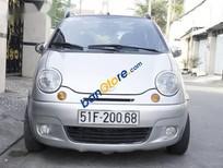 Bán Daewoo Matiz SE đời 2004, màu bạc