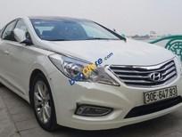 Cần bán xe Hyundai Azera 3.0 V6 đời 2012, màu trắng, nhập khẩu, giá chỉ 850 triệu